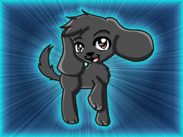 :Webkinz: Black Lab by IIbukiMioda