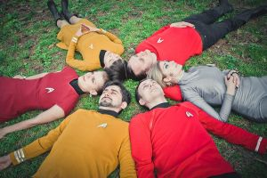 Starfleet officers by xVenya