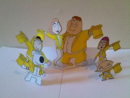 Family Guy Pop Up by WillziakDS