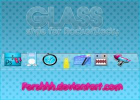 Skin de RocketDock Glass by Fershhh