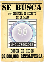 WANTED HIGGS BOSON by PhysicsAndMore