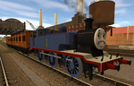 WWII Thomas (update) by TheDirtyTrain1