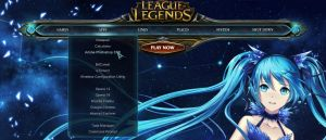 League of Legends Rainmeter dock by yorgash