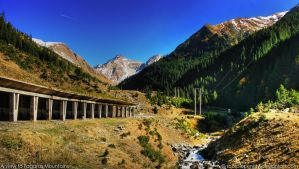 A view to Fagaras HDR by ScorpionEntity