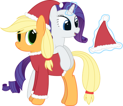 A RariJack Christmas by joeyh3