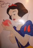 Snow White Drawing by chloesmith8