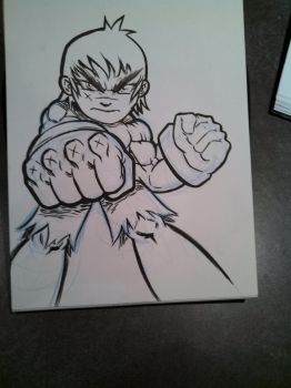 POW!!! Fist in the face by EvilWeenie