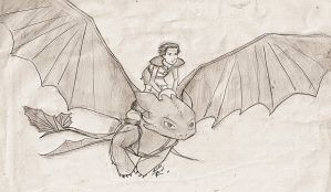 How to ride your Dragon by talita-rj