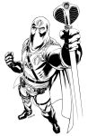 Hooded Cobra Commander by RobertAtkins