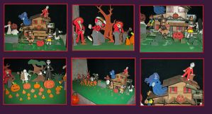 Little Clay Halloween Town by axelgnt