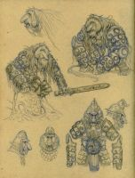 Sketches - Orangutroll by eoghankerrigan