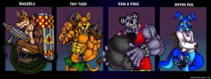 Crash Villains by Serpentina-Tribute