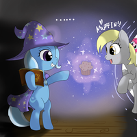mlp magic is muffin v2 by hoyeechun