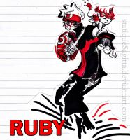 Introducing--- RUBY! by statiqueSagitta