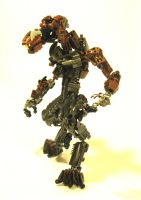 Bionicle Halo: Jackal by retinence