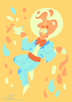 Color palette Swap!Grillby by Tarulimint