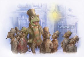 Muppets: ''One More Sleep 'Til Christmas'' by SarahRStraub