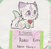 ROBO KITTEH 4 AUCTION by imadrinkyersoda