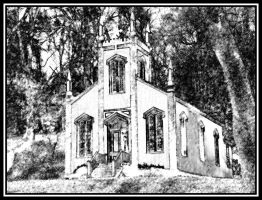Chruch at State Park 2 by Curim
