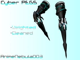 Cyber Peg legs DL! by AnimeNebula003