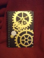 Steampunk Sketchbook by ChaosModifier