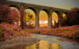 The Viaduct 3 by welshdragon