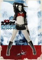 Hot Zombie Killer by fullvocal