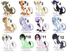 Cub Point Adopts -CLOSED- by PoodleFradoodle