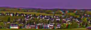 Rodewisch Hyperstereo Anaglyph HDR 3D by zour