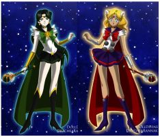 LADIES FROM ASGARD by Lady-Cat-Star