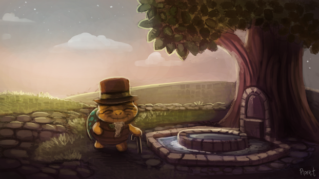 DAY 128. Animal Crossing - Fountain (35 Minutes) by Cryptid-Creations
