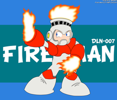 DLN-007 - Fire Man by LuigiStar445