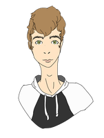 Michael (unshaded) by M4geOfSp4ce