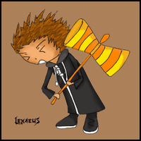 Joke Weapons: Lexaeus by shiraoi