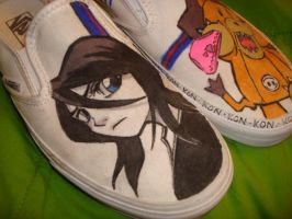 Bleach Shoes by TentacleF00