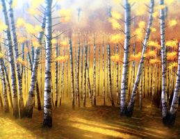 Birch Forest by lkrecic
