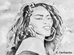 Jody Watley (painting) by eyeqandy