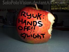 Ryuk's Apple by SoloPoloVision
