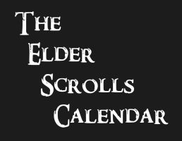 Elder Scrolls Calendar READ DESC to buy! by Gothalla123