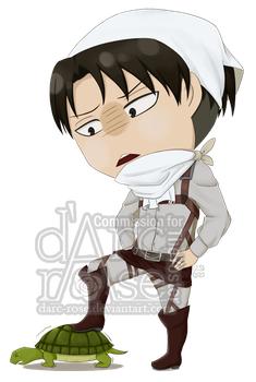 Commission - TheYoster - SnK-Levi (2) by darc-rose