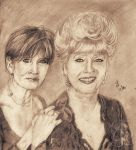 Carrie Fisher and Debbie Reynolds RIP by MercuryRapids