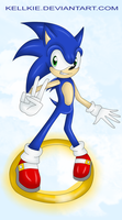 Sonic... ON A RING by nakklesart