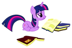 Twilight - Sat Reading by Warmo161