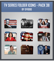 TV Series Folder Icons - Pack 38 by DYIDDO