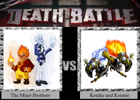 Death Battle 22: Hot 'n' Cold! by HailfirePhantom