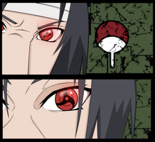 Itachi Vs Sasuke by DarkDars