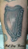 Johns Harp by Reddogtattoo
