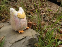 Baby Owlet plush by Lithe-Fider