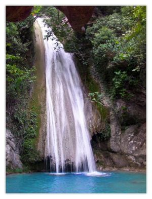 Waterfall at Messinia, Greece