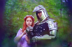 Sansa Stark and Sandor Clegane by inSOLense
